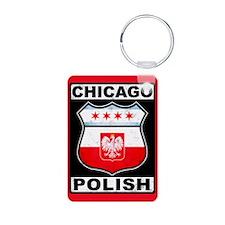 Chicago Polish American Keychains