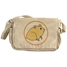 Cute Hamster Messenger Bag