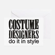 Costume Designers do it in St Greeting Cards (Pack