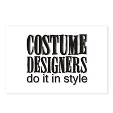 Costume Designers do it in St Postcards (Package o