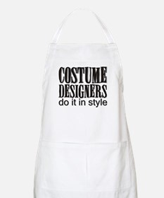 Costume Designers do it in St BBQ Apron