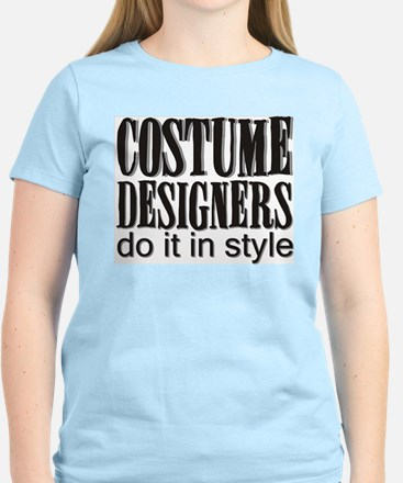 Costume Designers do it in St Women's Pink T-Shirt