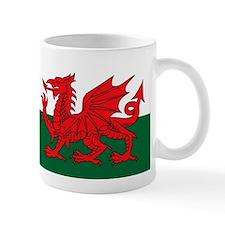 welsh dragon Small Mug