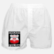 Chicago Polish American Boxer Shorts