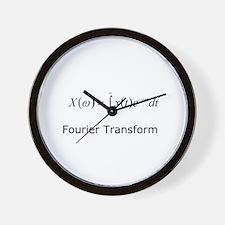 Fourier Transform Wall Clock