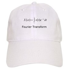 Fourier Transform Baseball Cap