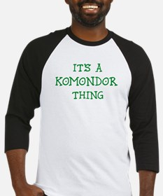 Komondor thing Baseball Jersey
