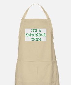 Komondor thing BBQ Apron