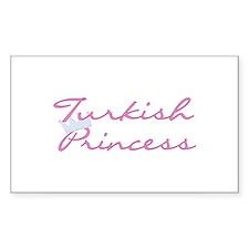 Turkish Princess Rectangle Decal