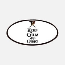 Keep Calm Carry Rum Patches