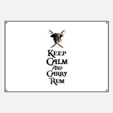 Keep Calm Carry Rum Banner