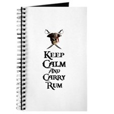 Keep Calm Carry Rum Journal