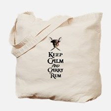 Keep Calm Carry Rum Tote Bag