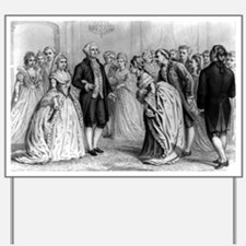 A presidential reception in 1789 - by General and