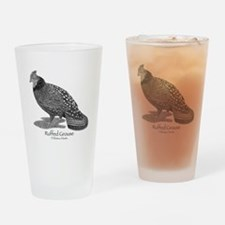 Ruffed Grouse Drinking Glass