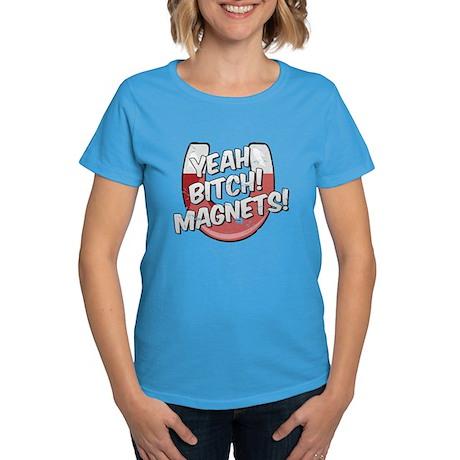 Yeah Magnets Women's Dark T-Shirt