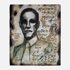 H.P. Lovecraft  Throw Blanket
