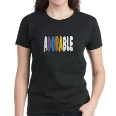 Adorable Women's Dark T-Shirt