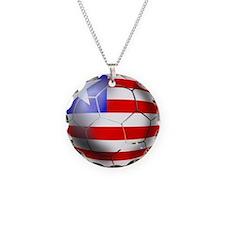 Liberia Soccer Ball Necklace