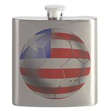 Liberia Soccer Ball Flask