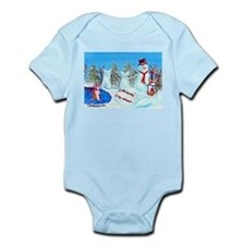 Snow Corgis II Infant Bodysuit