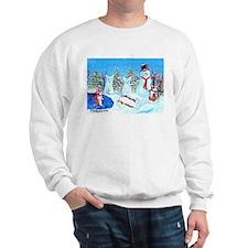 Snow Corgis II Sweatshirt