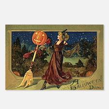 Vintage Halloween Dancing Postcards (Package of 8)