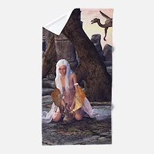 Dragon Lady Beach Towel