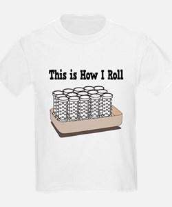 How I Roll (Hair Rollers/Curlers) T-Shirt