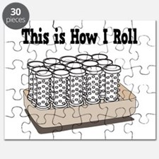 How I Roll (Hair Rollers/Curlers) Puzzle