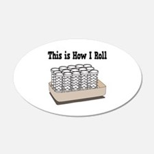 How I Roll (Hair Rollers/Curlers) Wall Decal