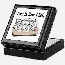 How I Roll (Hair Rollers/Curlers) Keepsake Box
