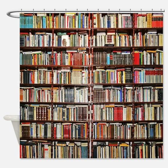 Books! Shower Curtain