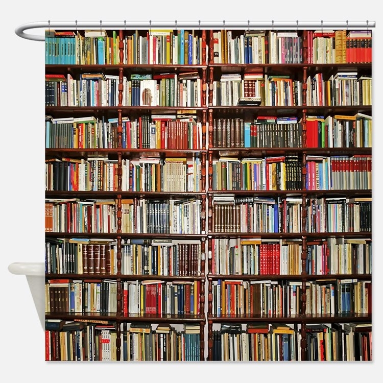 Books Shower Curtains