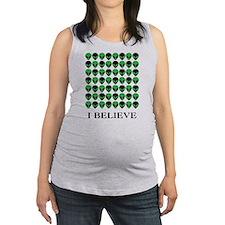 I Believe - Aliens Maternity Tank Top