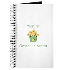 World's Greatest Auntie (y) Journal