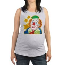 Clown Maternity Tank Top