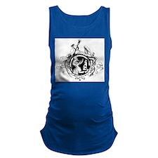 Devil Illustration Maternity Tank Top