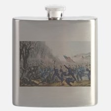 Battle of Mill Spring, Ky - 1862 Flask