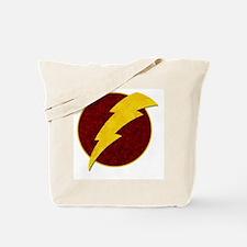 Retro Super Hero lightning bolt Tote Bag