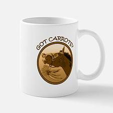 Got Carrots? Funny horse Mug