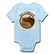 Got Carrots? Funny horse Infant Bodysuit