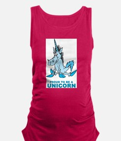 Proud To Be A Unicorn Maternity Tank Top