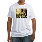 PEACEABLE KINGDOM  Fitted T-Shirt