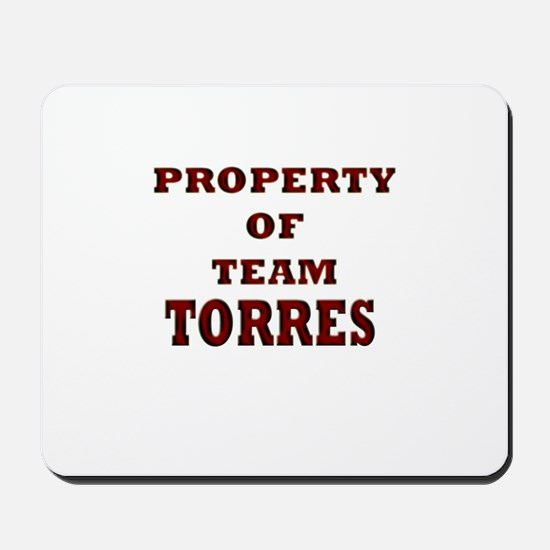 property of team Torres Mousepad