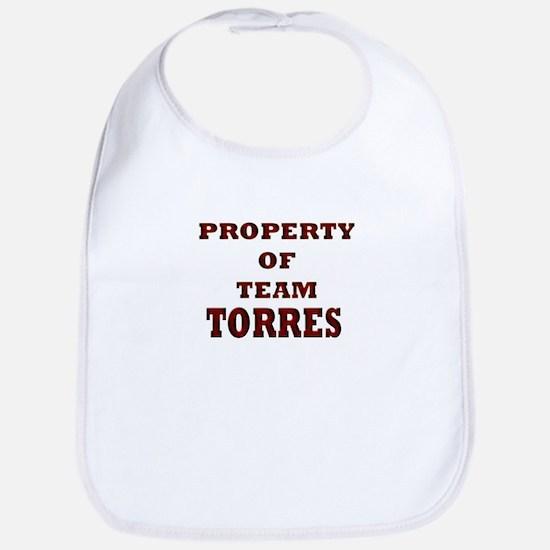 property of team Torres Bib
