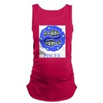 Pisces Maternity Tank Top