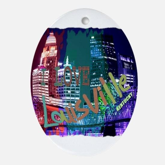 Louisville Ornament (Oval)