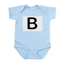 Letter B Body Suit