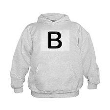 Letter B Hoodie